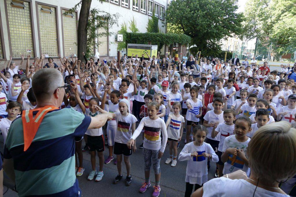 Fußball WM an der Liebfrauenschule