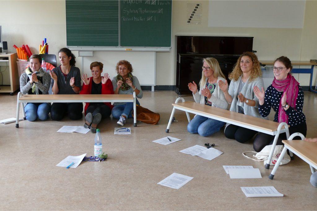 Musikfortbildung des Lehrerkollegiums